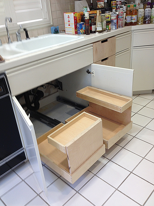 Irregular Kitchen Drawer